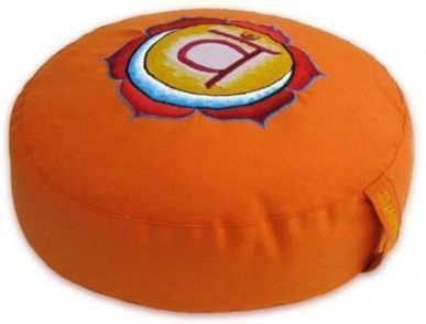 Meditationskissen Orange Sakralchakra