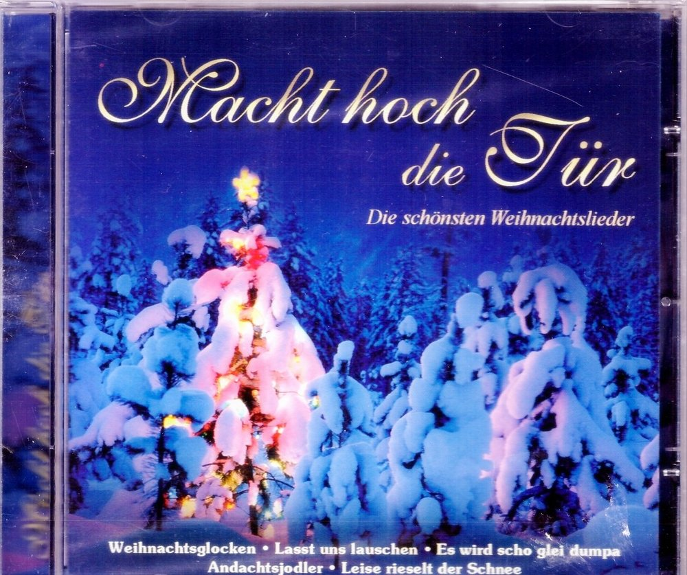 Weihnachtslieder Cd.Cd Macht Hoch Die Tür Die Schönsten Weihnachtslieder