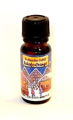 Duftöl Weihnachten Schoko-Orange 10ml